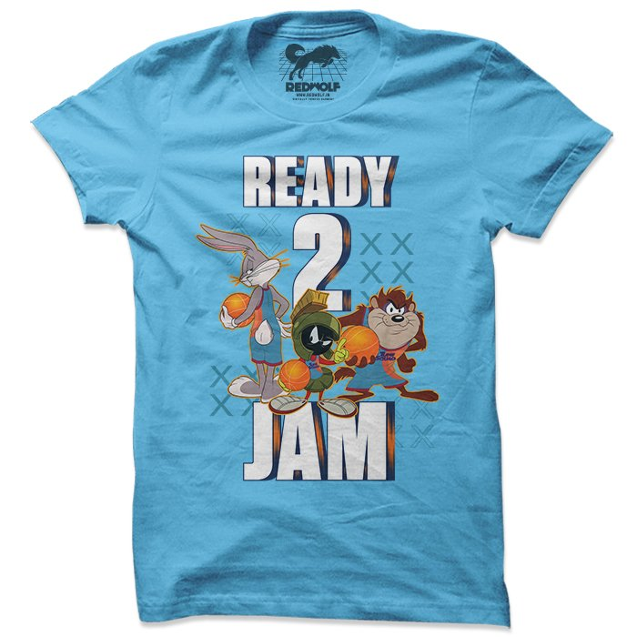 Ready 2 Jam - Looney Tunes Official T-shirt
