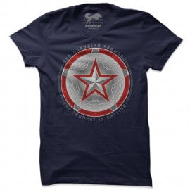 Red Guardian Forward - Marvel Official T-shirt