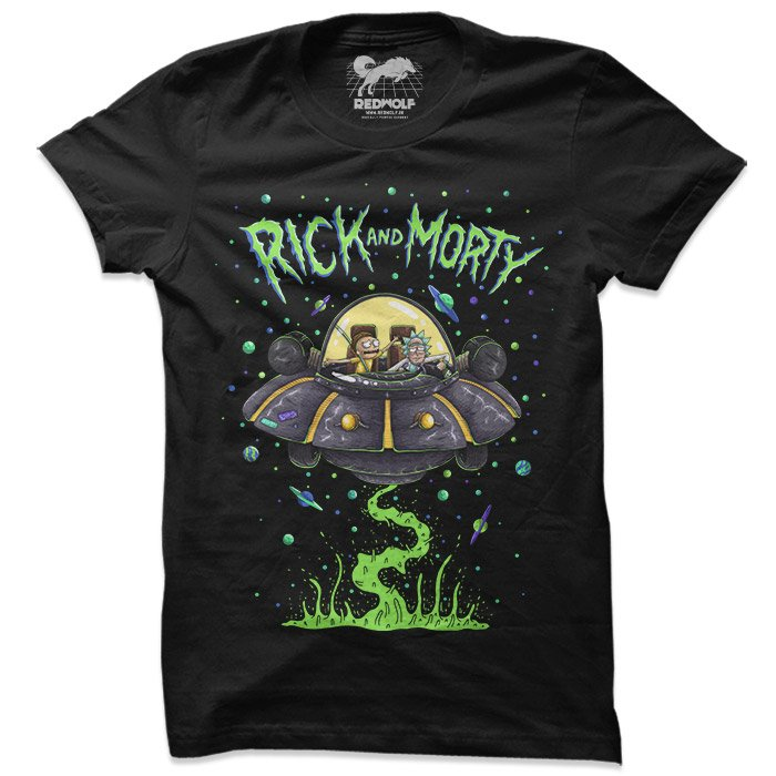 Space Cruiser - Rick And Morty Official T-shirt