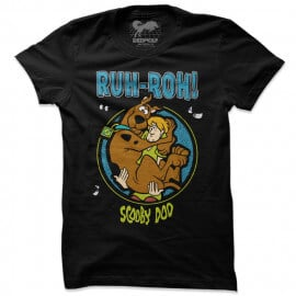 Scooby: Ruh Roh - Scooby Doo Official T-shirt