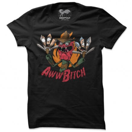 Scary Terry: Aww Bitch - Rick And Morty Official T-shirt