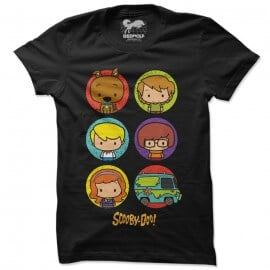 Scooby Doo Chibi - Scooby Doo Official T-shirt