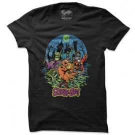 Scooby Villains - Scooby Doo Official T-shirt