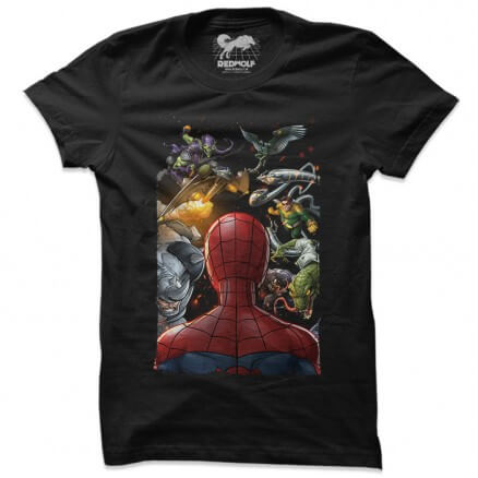 Spider-Man vs The Sinister Six - Marvel Official T-shirt