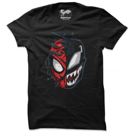 Spider-Man Venom Split - Marvel Official T-shirt