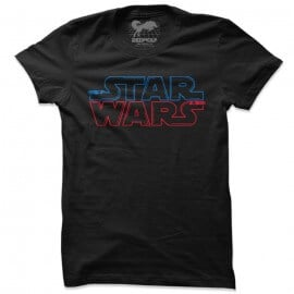 Star Wars: Saber Logo - Star Wars Official T-shirt