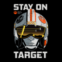 Stay On Target - Star Wars Official T-shirt