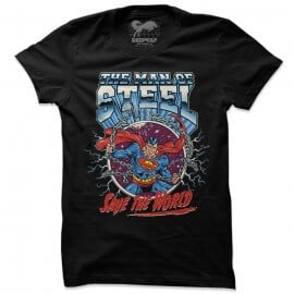Superman: Save The World - Superman Official T-shirt