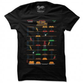 Taco Time - Marvel Official T-shirt