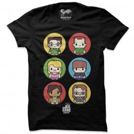 TBBT: Chibi - The Big Bang Theory Official T-shirt