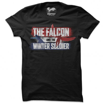 The Falcon And The Winter Soldier Logo - Marvel Official T-shirt
