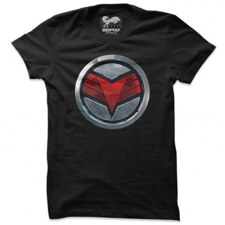 The Falcon Logo - Marvel Official T-shirt