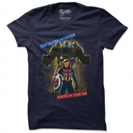 The Hydra Stomper & Captain Carter - Marvel Official T-shirt