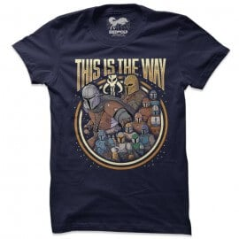 The Mandalorian Group - Star Wars Official T-shirt