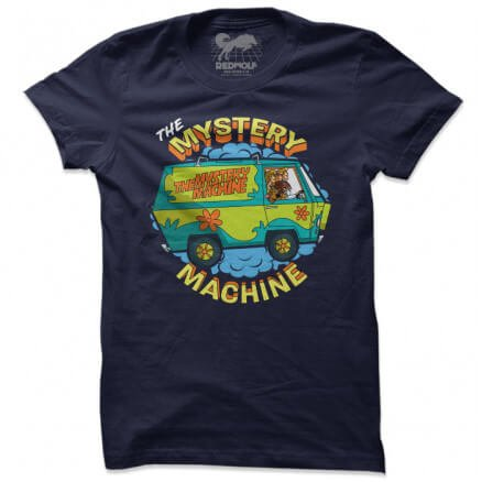 The Mystery Machine - Scooby Doo Official T-shirt