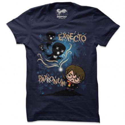 The Patronus Charm Chibi - Harry Potter Official T-shirt