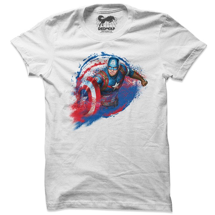 The Super Soldier - Marvel Official T-shirt