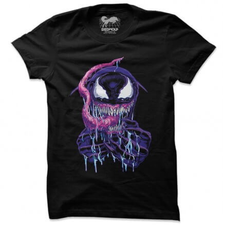 The Venom: Grin - Marvel Official T-shirt