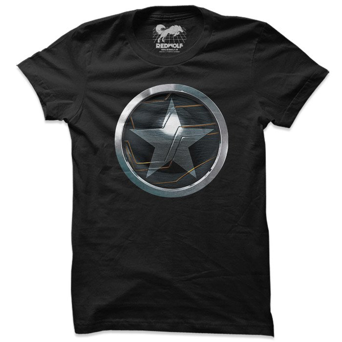 The Winter Soldier Logo - Marvel Official T-shirt