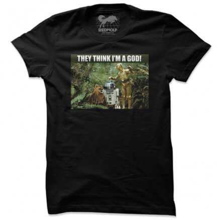 They Think I'm God! - Star Wars Official T-shirt