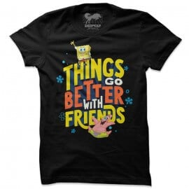 Things Go Better With Friends - SpongeBob SquarePants Official T-shirt