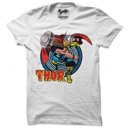 Thor: Retro - Marvel Official T-shirt