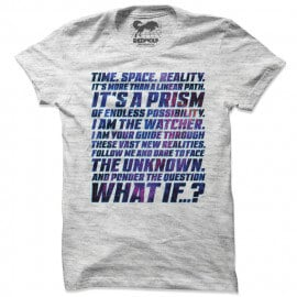 Time. Space. Reality - Marvel Official T-shirt