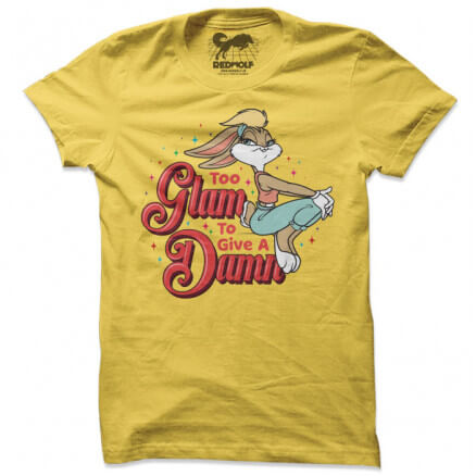 Too Glam To Give A Damn - Looney Tunes Official T-shirt