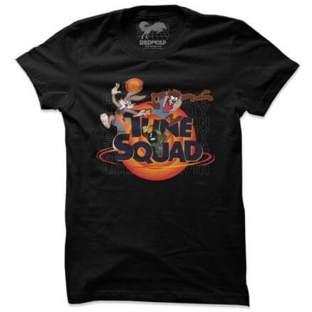 Tune Squad In Action - Looney Tunes Official T-shirt