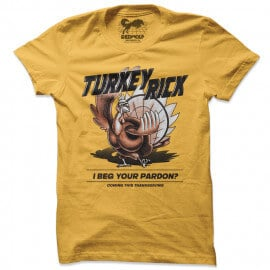 Turkey Rick - Rick And Morty Official T-shirt