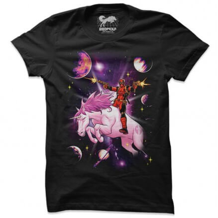 Unicorn Rider - Marvel Official T-shirt