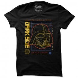 Vader: Dark Side - Star Wars Official T-shirt