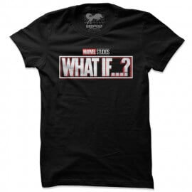What If: Logo - Marvel Official T-shirt