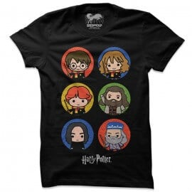 Wizards Chibi - Harry Potter Official T-shirt