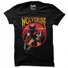 Wolverine: 8 Bit - Marvel Official T-shirt