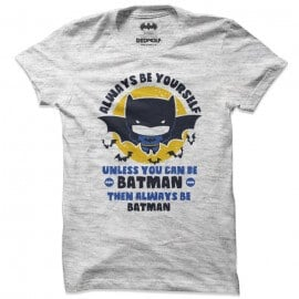 Always Be Batman - Batman Official T-shirt