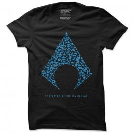 Protector Of The Seven Seas - Aquaman Official T-shirt