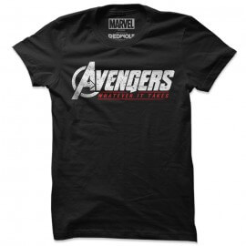 Whatever It Takes - Marvel Official T-shirt