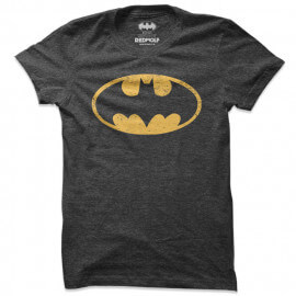 Batman Classic Logo - Batman Official T-shirt