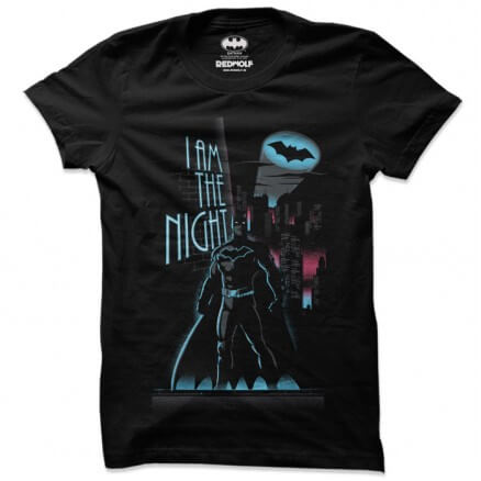 I Am The Night - Batman Official T-shirt
