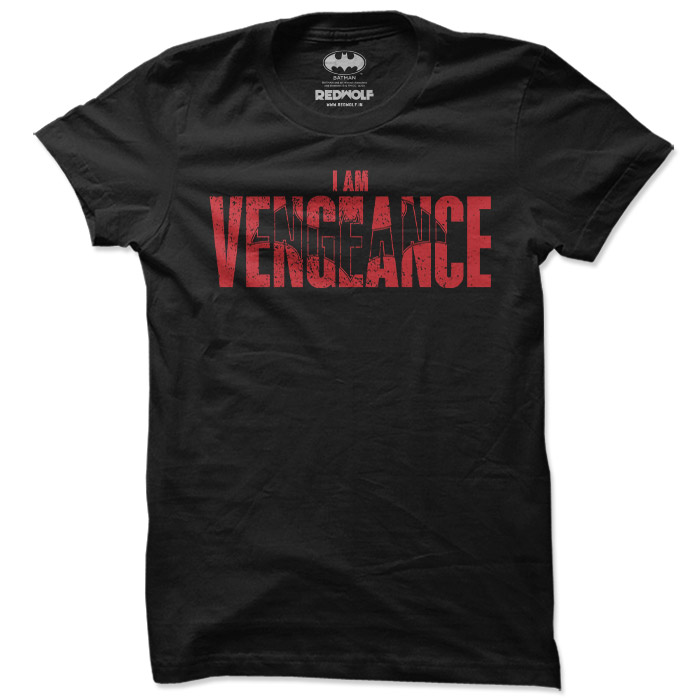 I Am Vengeance - Batman Official T-shirt