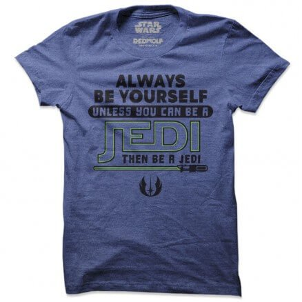 Be A Jedi - Star Wars Official T-shirt