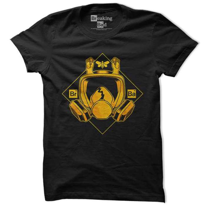 Breaking Bad Gas Mask - Official Tee