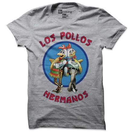 Los Pollos Hermanos - Breaking Bad Official T-shirt