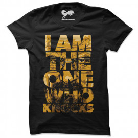 I Am The One Who Knocks - Breaking Bad Official T-shirt