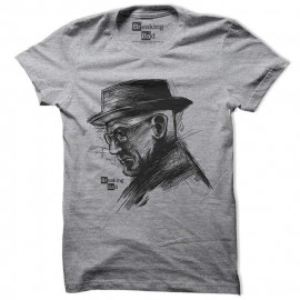 Walter White Sketch - Breaking Bad Official T-shirt