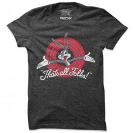 That's All Folks - Bugs Bunny Official T-shirt