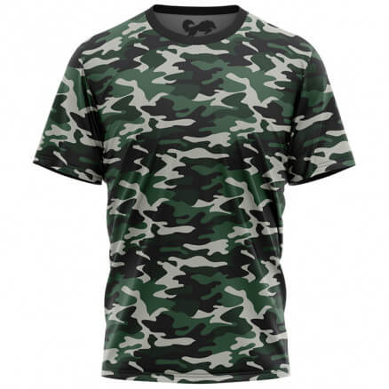Camouflage Pattern: Military Green