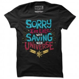 Captain Marvel: Saving The Universe - Marvel Official T-Shirt
