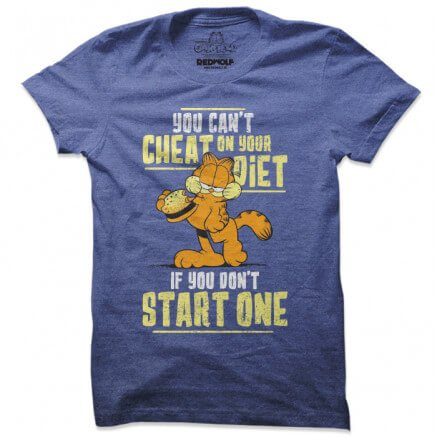 Cheat On Your Diet - Garfield Official T-shirt